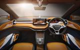 Skoda Vision IN concept interior