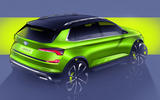 Skoda Vision X small SUV concept previewed ahead of Geneva motor show