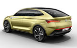 Skoda Vision E electric car
