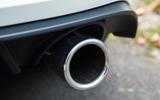 Volkswagen Golf GTI chrome exhaust