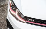 Volkswagen Golf GTI vs Hyundai i30n golf headlights