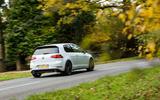 Volkswagen Golf GTI rear cornering