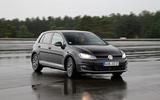 Volkswagen Golf MHEV cornering