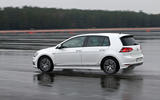 Volkswagen Golf MHEV Plus rear cornering