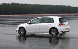 Volkswagen Golf MHEV Plus rear cornering