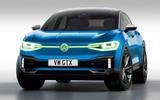 Volkswagen ID 4 GTX render - static front
