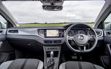 Volkswagen Polo 1.0 TSI dashboard