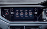 Volkswagen Polo 1.0 TSI infotainment system