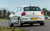 Volkswagen Polo 1.0 TSI rear cornering