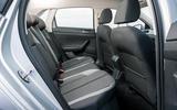 Volkswagen Polo 1.0 TSI rear seats