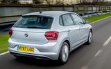 Volkswagen Polo 1.0 TSI rear