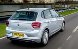 Volkswagen Polo 1.0 TSI rear