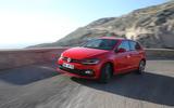 Volkswagen Polo GTI cornering