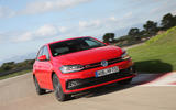 Volkswagen Polo GTI on the track