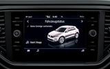 Volkswagen T-Roc infotainment system