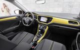 Volkswagen T-Roc TDI interior