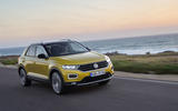 Volkswagen T-Roc TDI on the road