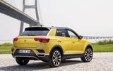 Volkswagen T-Roc TDI rear quarter