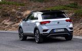 Volkswagen T-Roc rear