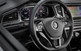 Volkswagen T-Roc steering wheel