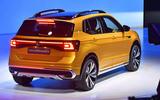 New Delhi Auto Expo 2020 - Volkswagen Taigun rear