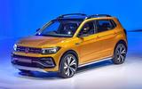 New Delhi Auto Expo 2020 - Volkswagen Taigun front