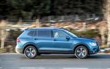 Volkswagen Tiguan Allspace side profile
