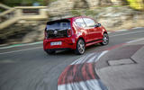 Volkswagen Up GTI rear cornering