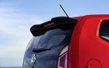Volkswagen Up GTI rear spoiler