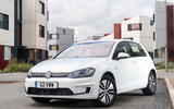 Volkswagen e-Golf 2016 - stationary front