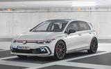 Volkswagen Golf GTI render - stationary side