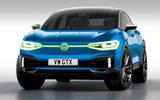 Volkswagen ID 4 GTX render - stationary front