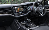 VW Touareg V6 petrol RHD interior