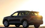 VW Touareg V6 petrol rear