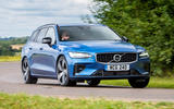 Volvo V60 T8 TwinEngine 2019 UK first drive review - hero front