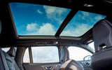 Volvo V60 T8 TwinEngine 2019 UK first drive review - sunroof