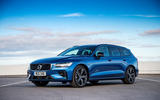 Volvo V60 T8 TwinEngine 2019 UK first drive review - static front