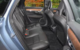Volvo S90 rear seats