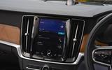 Volvo S90 infotainment system