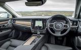 Volvo V90 dashboard