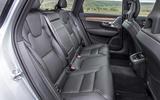 Volvo V90 rear seats