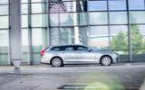 Volvo V90 side profile