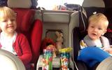Volvo V90 rear seats filled