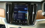 Volvo V90 infotainment system