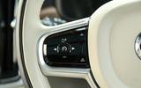 Volvo V90 steering wheel controls