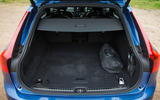 Volvo V90 T8 boot space