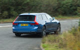 Volvo V90 T8 rear cornering