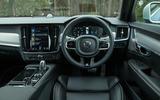 Volvo V90 T8 dashboard