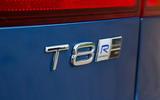 Volvo V90 T8 engine badging