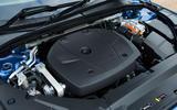 Volvo V90 T8 engine bay